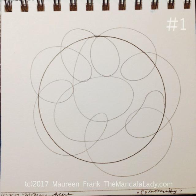 """Community Mandala: 1 - """"doodle"""" the community doodle"""
