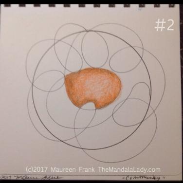 Community Mandala: 2 - start with orange