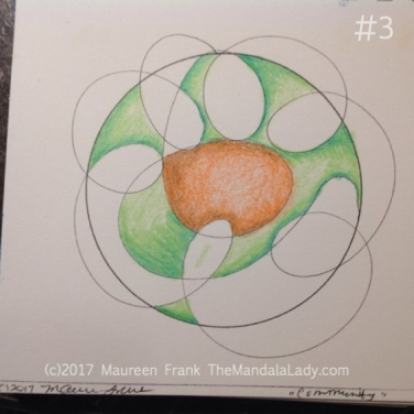 Community Mandala: 3 - add some green