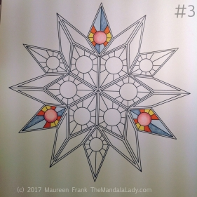 """Soulscape Day 1: 3 - add pinks to circles in triangle of """"points"""""""