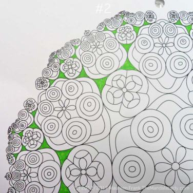 Astrological Sign of Taurus - Mandala to Color - Hyperbolic Tessellation