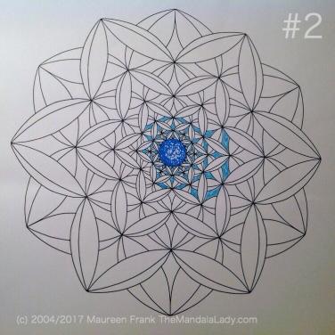 Fly Away With Me Mandala - The Mandala Lady - Wings - Butterflies