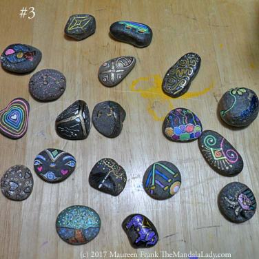 Mindfulness Stones - rock painting - inspirational stones - hand painted