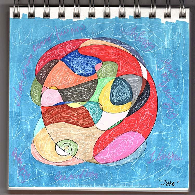 Jake Doodle Mandala The Mandala Lady