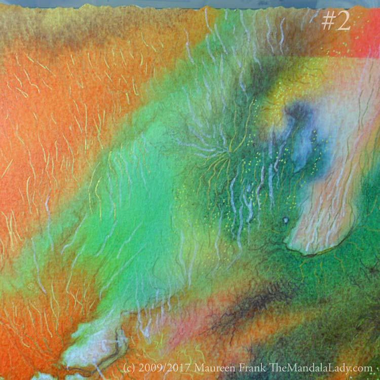 Neural Pathways - The Mandala Lady - happenings art - abstract