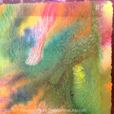 Neural Pathways - The Mandala Lady - happenings art - abstract