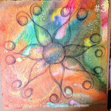 Neural Pathways - The Mandala Lady - happenings art - abstract - mandala