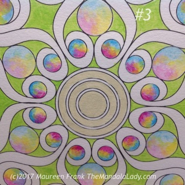 Double Spirals Mandala - The Mandala Lady - Mandalas to Color