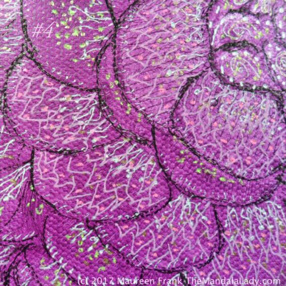 Fuchsia Mandala - Pink Purple Magenta - The Mandala Lady