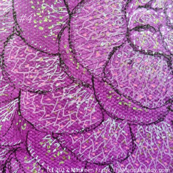 Fuchsia Mandala - Pink Purple Magenta - The Mandala Lady