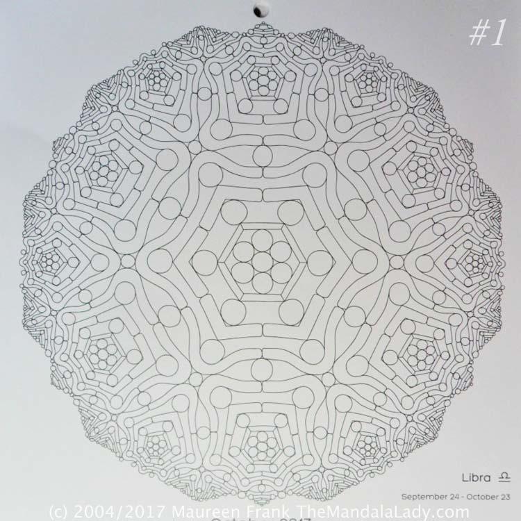 Astrological Sign of Scorpio Mandala - The Libra - The Mandala Lady