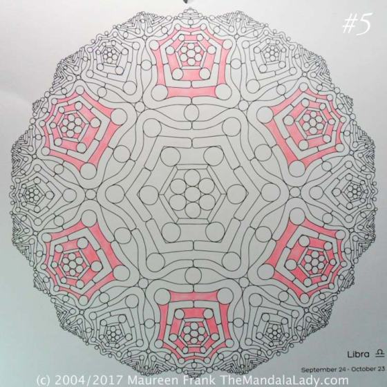 Astrological Sign of Scorpio Mandala - The Libra - The Mandala Lady