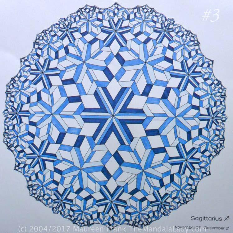 Astrological Sign of Sagittarius Mandala - The Sagittarius - The Mandala Lady
