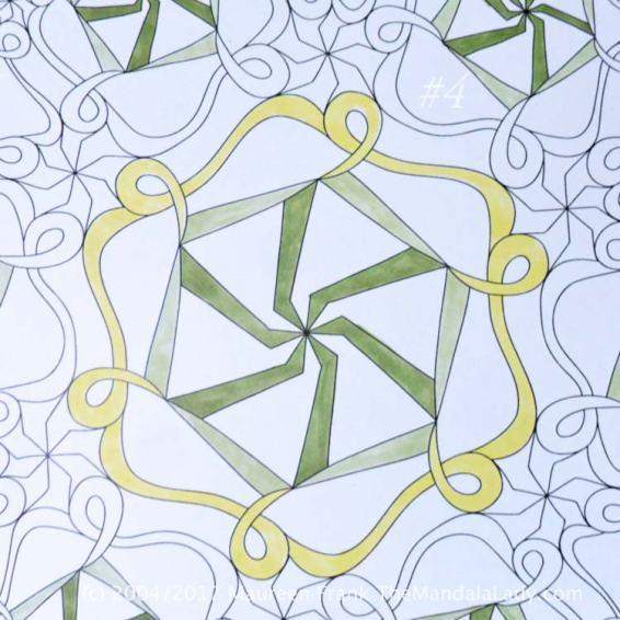 Astrological Sign of Capricorn Mandala - The Goat - The Mandala Lady