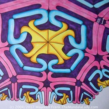 Astrological Sign of Scorpio Mandala - The Scorpion - The Mandala Lady